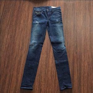 Diesel Grupee Jeans Sz 25